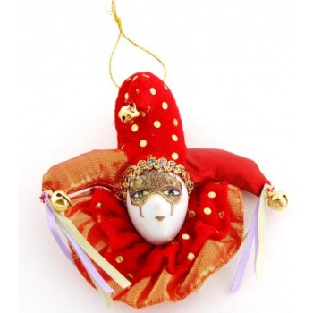 Декоративна фигурка маска с магнит - 12см