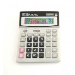 Електронен калкулатор - 19х15см с множество функции и възможност за извеждане на 12 цифри