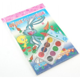 Комплект за рисуване включващ две книжки за оцветяване 25х18см