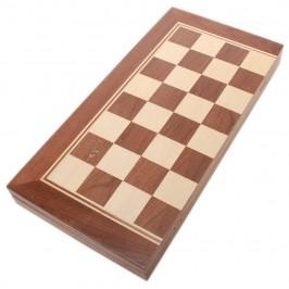 Комплект шах и табла в красива дървена кутия с размери - 50х20 см