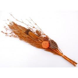 Изкуствен букет от сухи цветя, подходящ за декорации