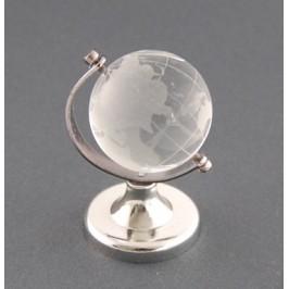 Декоративен глобус от стъкло - 40мм