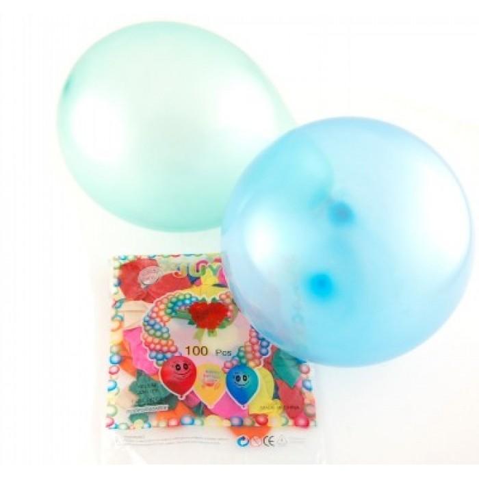 Различни цветове балони 100 броя в пакет