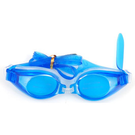 Стилни очила за плуване в комплект с тапи за уши и щипка нос, изработени от PVC материал и силикон