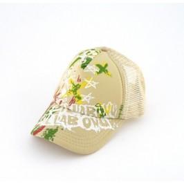 Младежка спортна лятна шапка с козирка и щампи
