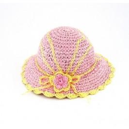 Красива плетена лятна шапка