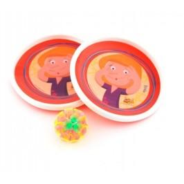 Комплект чинии с ластик за ръката и лепкаво топче