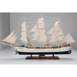 Сувенирен ветроходен кораб - макет, изработен прецизно в детайли