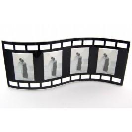 Красива стъклена фоторамка за четири снимки