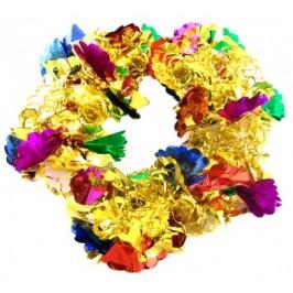 Разтягащ се гирлянд от цветно фолио