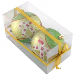 Декоративни топки за окачване на елха в блестящи наситени цветове