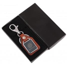 Ключодържател метал и кожа VOLKSWAGEN в луксозна кутия