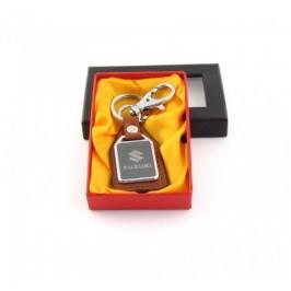Ключодържател метал и кожа Suzuki в луксозна кутия