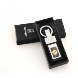 Ключодържател метал и кожа с автомобилна емблема
