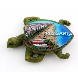 Сувенирна фигурка костенурка с магнит - 7