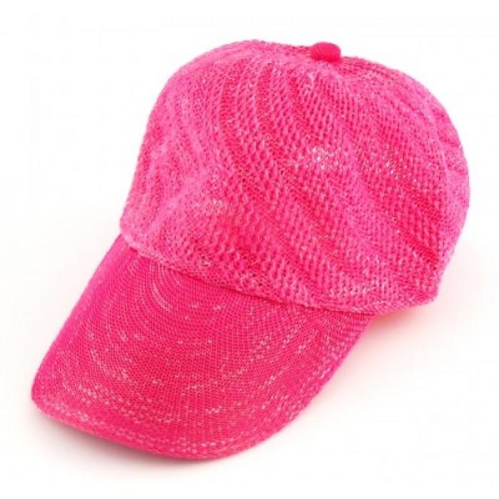 Спортна плетена шапка с козирка
