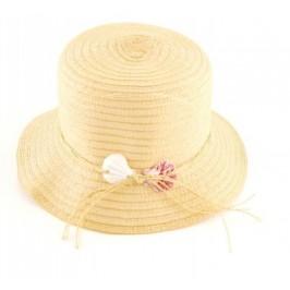 Красива дамска плетена шапка с декорация панделка
