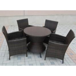 Комплект плетени ратанови мебели