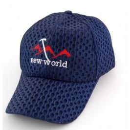 Спортна мъжка шапка от плат, с козирка