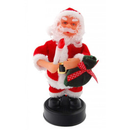 Декоративна музикална фигурка - Дядо Коледа