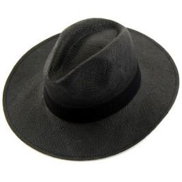 Плетена лятна шапка с декоративен текстилен кант