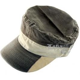 Младежка лятна шапка от плат с козирка