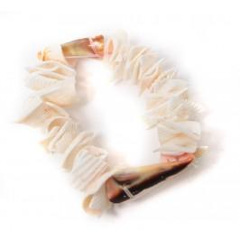 Красива гривна от миди на ластична основа