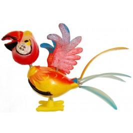 Сувенирна фигурка папагал с магнит - 11см