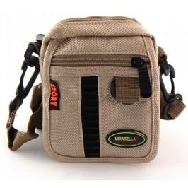 Мъжка чанта текстил за рамо, с регулируема презрамка, джобове и цип