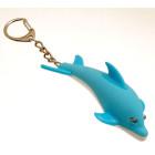 Ключодържател PVC музикална делфин със светещи очи диоди