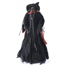 Декоративна фигурка - танцуваща вещица - скелет