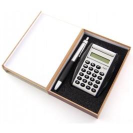 Луксозна химикал с електронен калкулатор в красива кутия