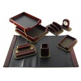 Луксозен подаръчен комплект за бюро от седем части