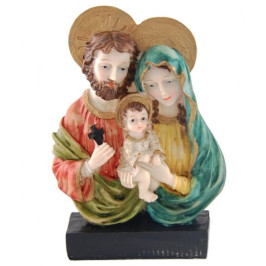 Декоративна фигурка гипс - Дева Мария, Йосиф и малкият Исус