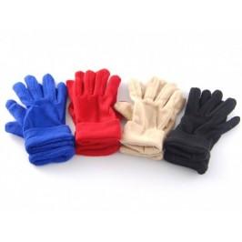 Меки детски ръкавички от полар с двоен маншет