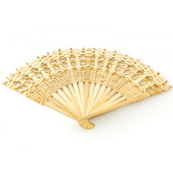 Декоративно ветрило от бамбук за окачване, дължина - 50см