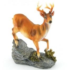 Декоративна керамична фигурка - елен