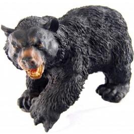 Декоративна фигура - гипс, мечка стръвница