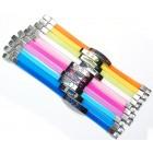 Гривна цветен силикон и метален декоративен елемент