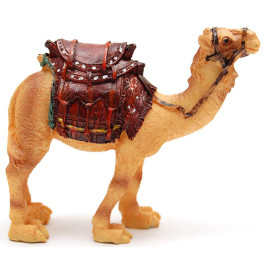 Декоративна фигура - едногърба камила с релефно седло