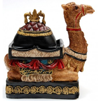 Декоративна кутийка за бижута - едногърба клекнала камила