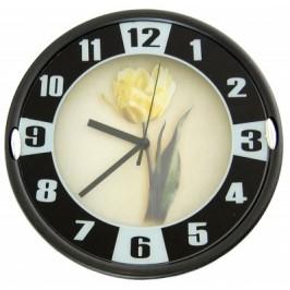 Красив стенен часовник - диаметър 23см