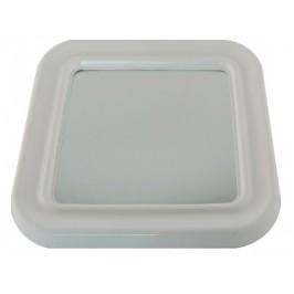 Огледало за баня рамка PVC - 30х30см