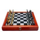 Луксозен декоративен шах в дървена кутия