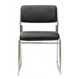 Стол с метална конструкция - седалка и облегалка