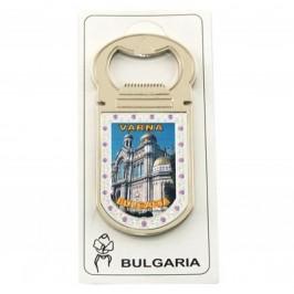Сувенирна магнитна отварачка - метал - изглед от Варна