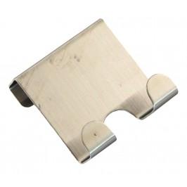 Двойна метална закачалка за врата - 8см
