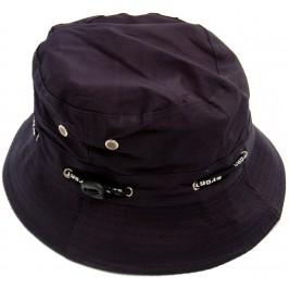 Лятна шапка от плат с регулируема лента за стягане