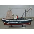 Сувенирен рибарски кораб - макет, изработен прецизно в детайли