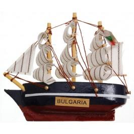 Сувенирен кораб - макет с магнит